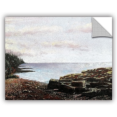 ArtWall 'Lakeside' by Gene Foust Painting Print on Canvas; 36'' H x 48'' W x 0.1'' D
