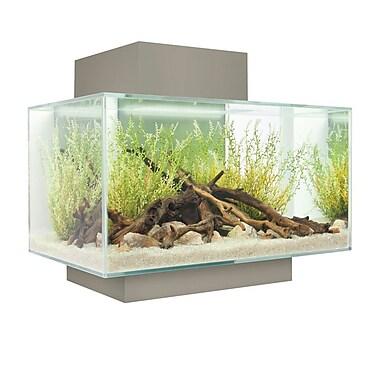 Hagen 6 Gallon Fluval Edge Aquarium Kit; Silver