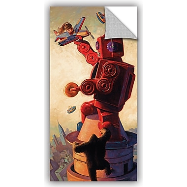 ArtWall 'Robo Kong' by Eric Joyner Graphic Art; 24'' H x 12'' W x 0.1'' D