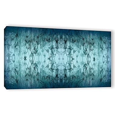 ArtWall 'Coincident Series V' by Cora Niele Graphic Art on Wrapped Canvas; 24'' H x 48'' W x 2'' D