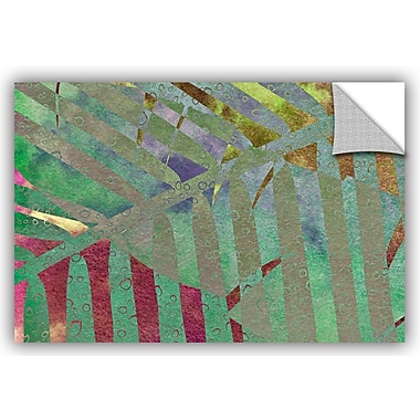 ArtWall 'Leaf Shades II' by Cora Niele Graphic Art; 24'' H x 36'' W x 0.1'' D