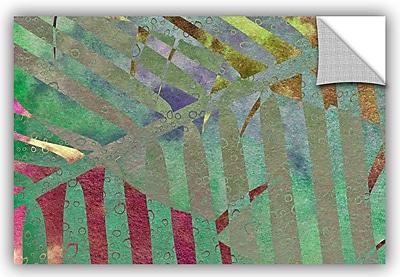 ArtWall 'Leaf Shades II' by Cora Niele Graphic Art; 32'' H x 48'' W x 0.1'' D