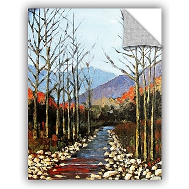 ArtWall 'Autumn Rising' by Gene Foust Painting Print on Canvas; 18'' H x 14'' W x 0.1'' D