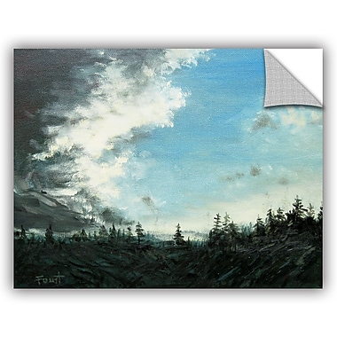 ArtWall 'Gloom' by Gene Foust Painting Print on Canvas; 18'' H x 24'' W x 0.1'' D