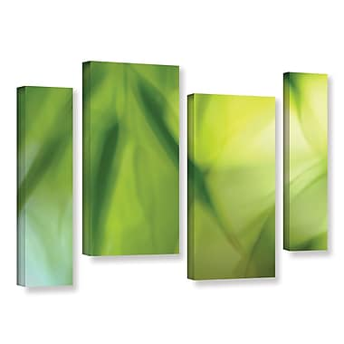 ArtWall 'Zen' by Cora Niele 4 Piece Graphic Art on Wrapped Canvas Set; 24'' H x 36'' W x 2'' D