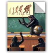 ArtWall 'A Species Origin' by Jerry Lofaro Graphic Art; 32'' H x 24'' W x 0.1'' D