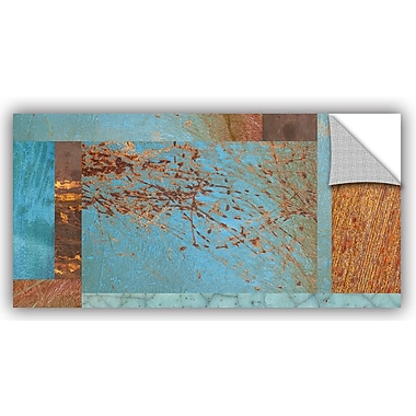 ArtWall 'Collage' by Cora Niele Graphic Art on Canvas; 18'' H x 36'' W x 0.1'' D
