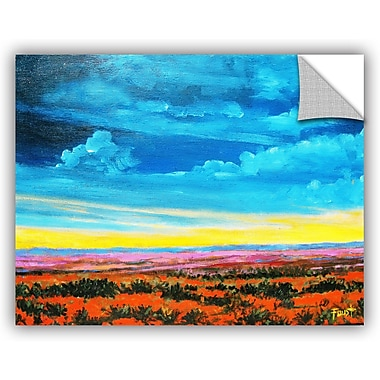 ArtWall 'Riders On The Storm' by Gene Foust Painting Print on Canvas; 36'' H x 48'' W x 0.1'' D