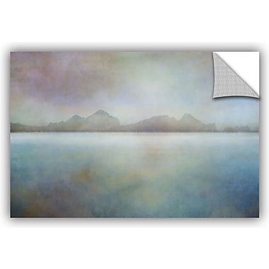 ArtWall 'Landscape Iceland Westman' by Cora Niele Painting Print; 16'' H x 24'' W x 0.1'' D
