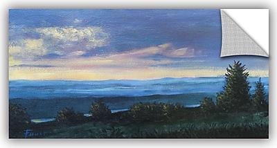 ArtWall 'Hillside' by Gene Foust Painting Print; 12'' H x 24'' W x 0.1'' D