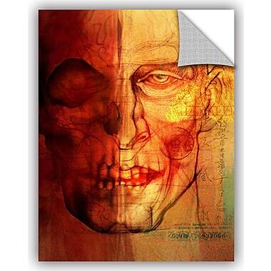 ArtWall 'Facial Anatomy' by Greg Simanson Graphic Art; 18'' H x 14'' W x 0.1'' D