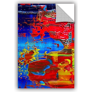 ArtWall 'The Abstract Storm' by Byron May Painting Print; 18'' H x 12'' W x 0.1'' D