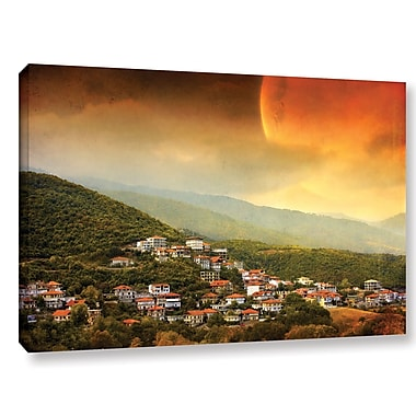 ArtWall 'Dawn' by Dragos Dumitrascu Photographic Print on Wrapped Canvas; 16'' H x 24'' W