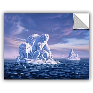 ArtWall 'Iceberg' by Jerry Lofaro Photographic Print; 24'' H x 32'' W x 0.1'' D