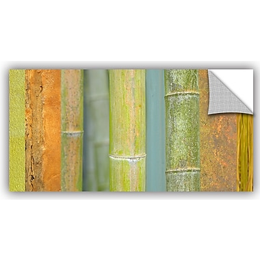 ArtWall 'Bamboo' by Cora Niele Graphic Art; 24'' H x 48'' W x 0.1'' D