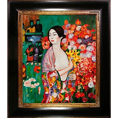 Tori Home The Dancer by Gustav Klimt Framed Painting