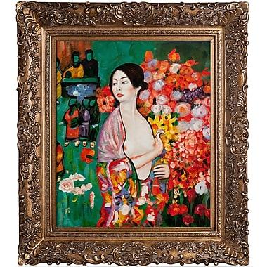 Tori Home The Dancer by Gustav Klimt Framed Painting
