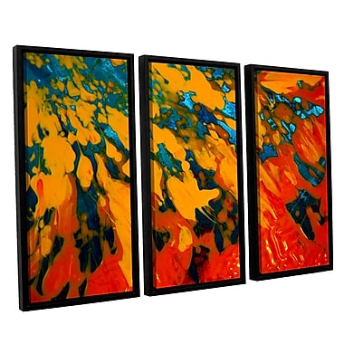 ArtWall 'Floating' by Byron May 3 Piece Framed Painting Print on Canvas Set