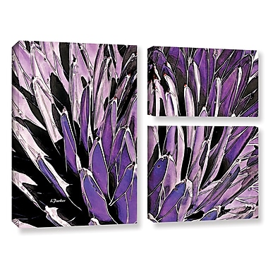 ArtWall 'Queen Victoria Agave' by Linda Parker 3 Piece Photographic Print on Wrapped Canvas Set