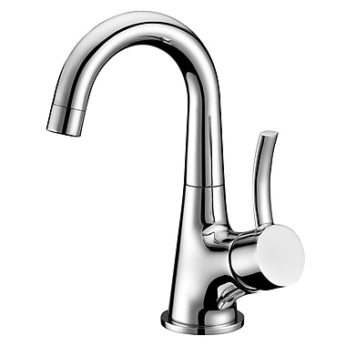 Dawn USA Single Handle Deck Mounted Faucet; Chrome