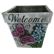Alpine Cement Pot Planter