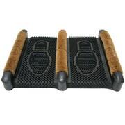 Rubber-Cal, Inc. Traditional Rubber Coir Boot Scrusher Outdoor Boot Scraper