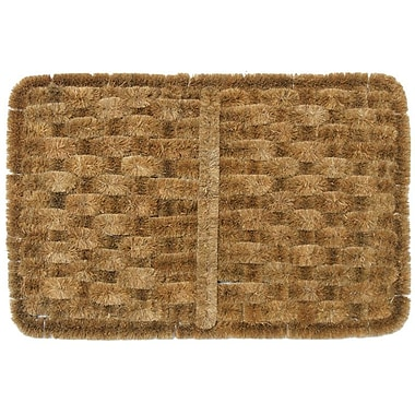 Rubber-Cal, Inc. Shiraz Coco Coir Doormat