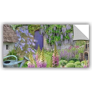 ArtWall Cottage Garden by Cora Niele Photographic Print on Canvas; 12'' H x 24'' W x 0.1'' D