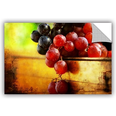 ArtWall 'Autumn Grapes' by Dragos Dumitrascu Photographic Print; 24'' H x 36'' W x 0.1'' D