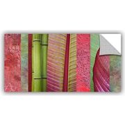 ArtWall 'Red Green' by Cora Niele Graphic Art on Canvas; 24'' H x 48'' W x 0.1'' D