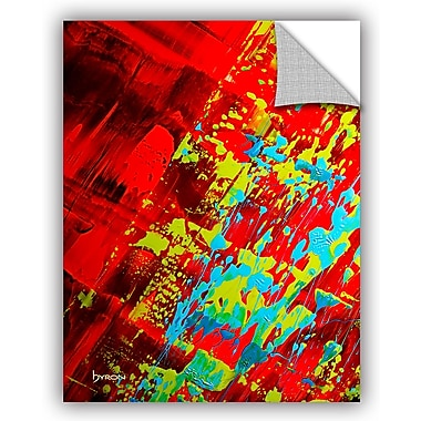 ArtWall 'Springtime Celebration' by Byron May Painting Print on Canvas; 32'' H x 24'' W x 0.1'' D
