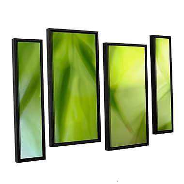 ArtWall 'Zen' by Cora Niele 4 Piece Framed Graphic Art on Canvas Set; 36'' H x 54'' W x 2'' D