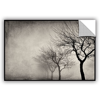ArtWall 'Early Morning Sepia' by Cora Niele Photographic Print on Canvas; 32'' H x 48'' W x 0.1'' D