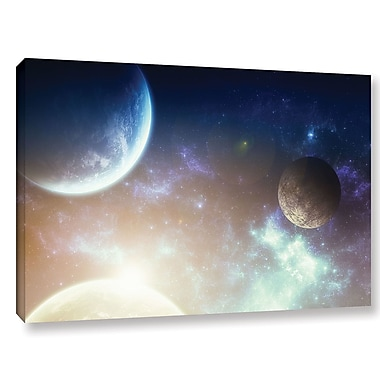 ArtWall 'Nova' by Dragos Dumitrascu Photographic Print on Wrapped Canvas; 24'' H x 36'' W