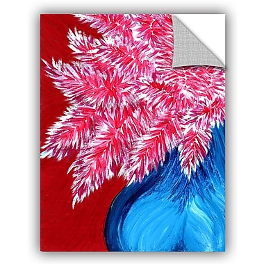 ArtWall 'Sexy Angel' by Debra Purcell Painting Print on Canvas; 18'' H x 14'' W x 0.1'' D