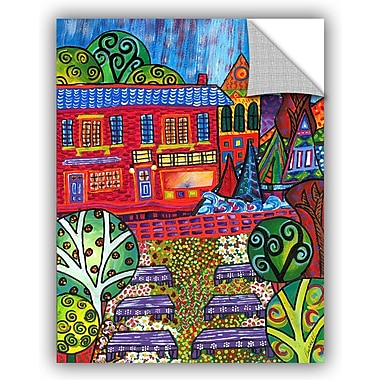 ArtWall 'Pet Store' by Debra Purcell Painting Print on Canvas; 48'' H x 36'' W x 0.1'' D