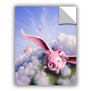 ArtWall 'Piggies' by Jerry Lofaro Graphic Art; 48'' H x 36'' W x 0.1'' D