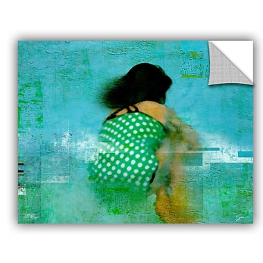 ArtWall 'Floating Away' by Greg Simanson Painting Print; 14'' H x 18'' W x 0.1'' D