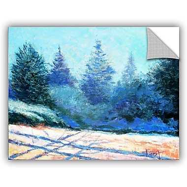 ArtWall 'Tree Side' by Gene Foust Painting Print on Canvas; 18'' H x 24'' W x 0.1'' D