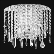 Glow Lighting Divine Ice 2-Light Wall Sconce