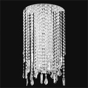 Glow Lighting Divine Ice 4-Light Wall Sconce