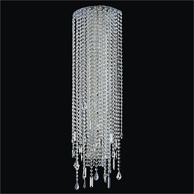 Glow Lighting Divine Ice 8-Light Wall Sconce