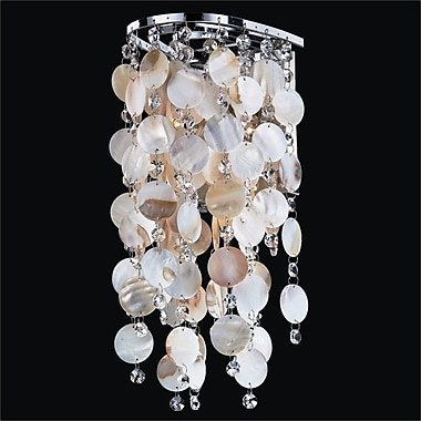 Glow Lighting Ensconced 1-Light Wall Sconce