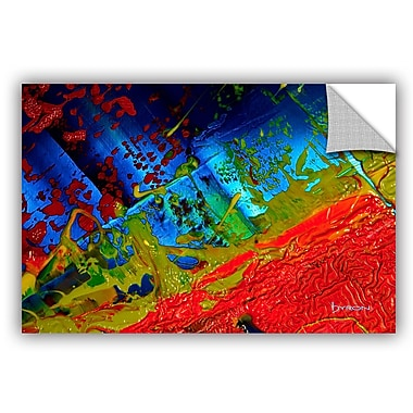 ArtWall 'Emotional Chaos' by Byron May Painting Print on Canvas; 16'' H x 24'' W x 0.1'' D