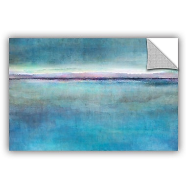 ArtWall 'Landscape Early' by Cora Niele Painting Print on Canvas; 32'' H x 48'' W x 0.1'' D