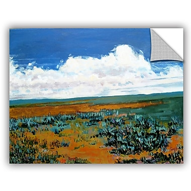 ArtWall 'Rolling Clouds' by Gene Foust Painting Print on Canvas; 14'' H x 18'' W x 0.1'' D