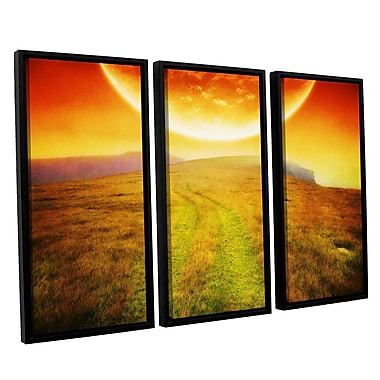 ArtWall 'Apocolypse Now' by Dragos Dumitrascu 3 Piece Framed Photographic Print on Canvas Set