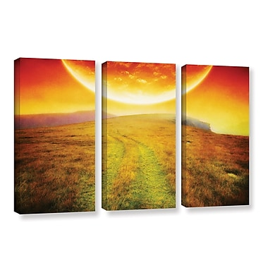 ArtWall 'Apocolypse Now' by Dragos Dumitrascu 3 Piece Photographic Print on Wrapped Canvas Set