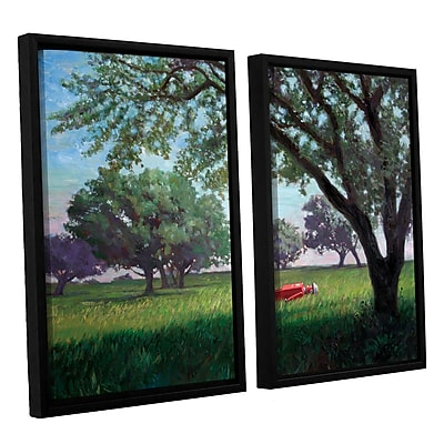 ArtWall 'Summertime' by Eric Joyner 2 Piece Framed Painting Print on Canvas Set