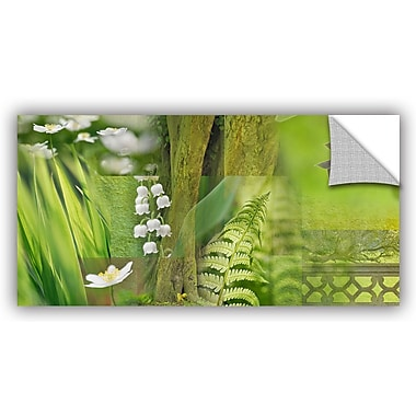 ArtWall 'Spring' by Cora Niele Graphic Art on Canvas; 24'' H x 48'' W x 0.1'' D